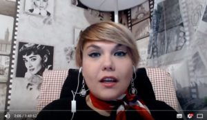 Александра Решмедилова на канале Политвера